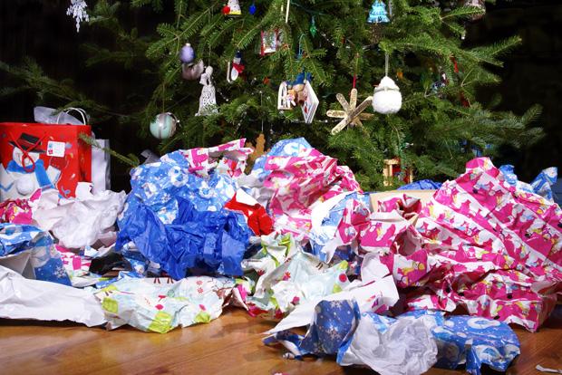 Weihnachten und der Müll