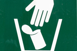 Piktogramm: Müll