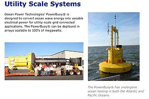Screenshot: Oceanpowertechnologies.com