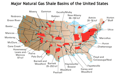 Where Can We Find Natural Gas