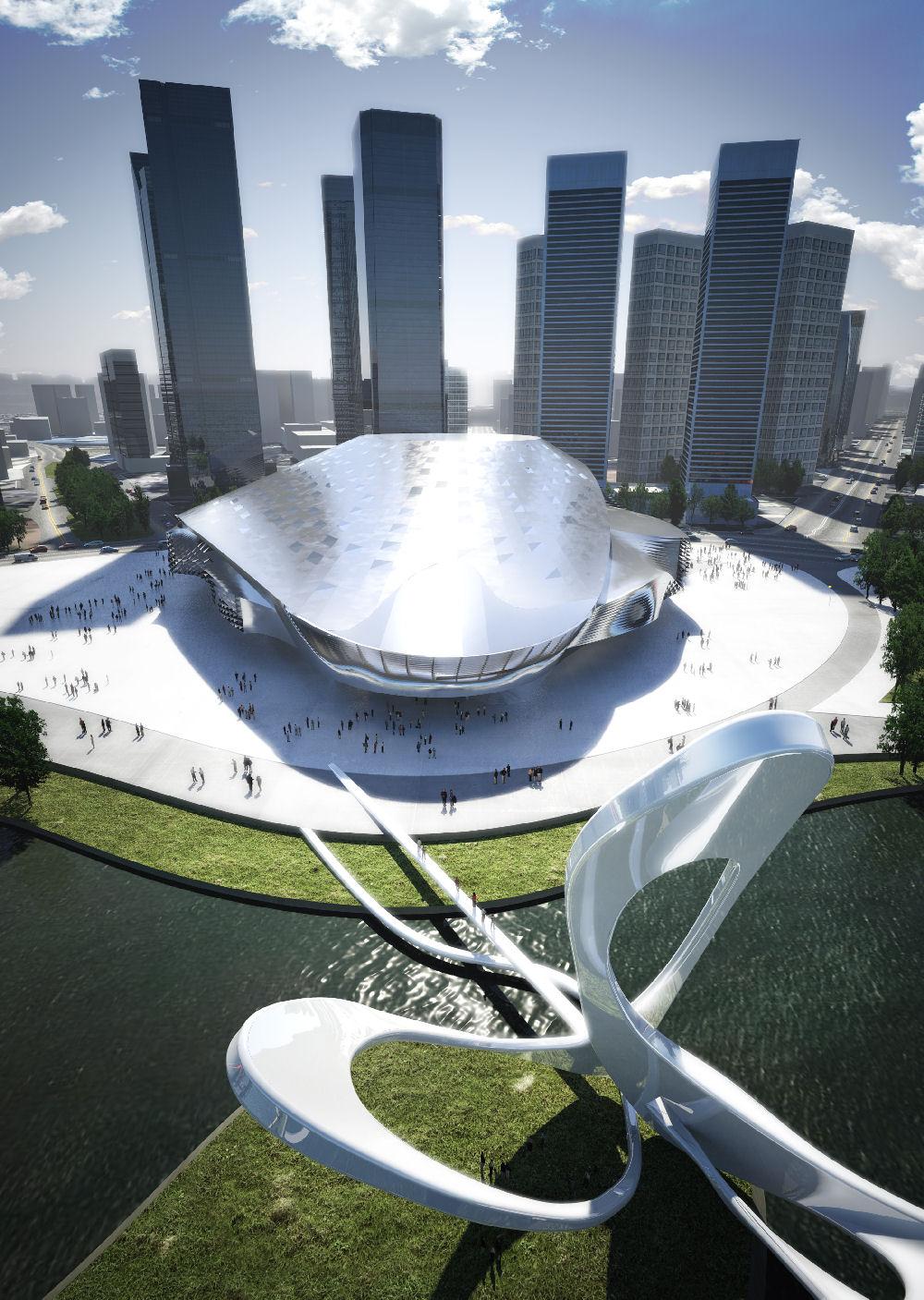 Noch mehr futuristische architektur energieleben - Futuristische architektur ...