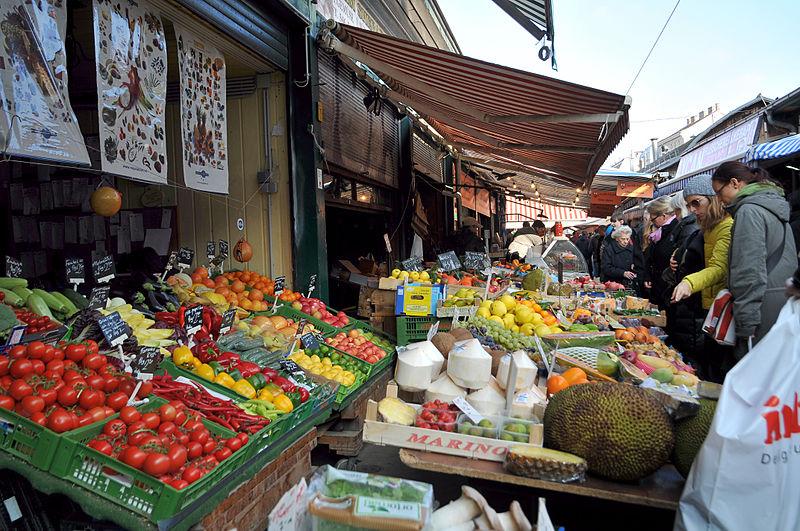 Der Naschmarkt. Unangefochten die Nummer 1 der Marktplätze mit einem ausgezeichneten Ruf weit über die Stadtgrenzen hinaus.