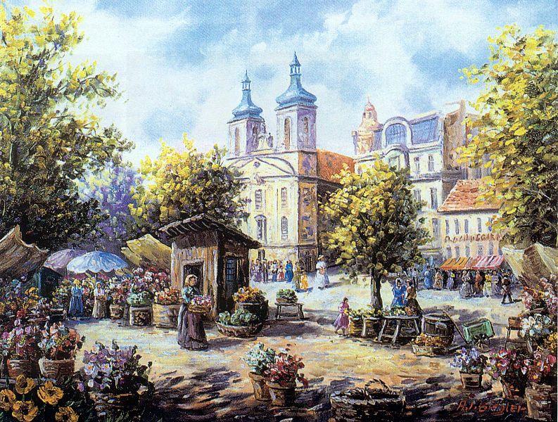 Direkt an der Landstraßer Hauptstraße ist der Rochusmarkt das lebendige Herz im Dritten.