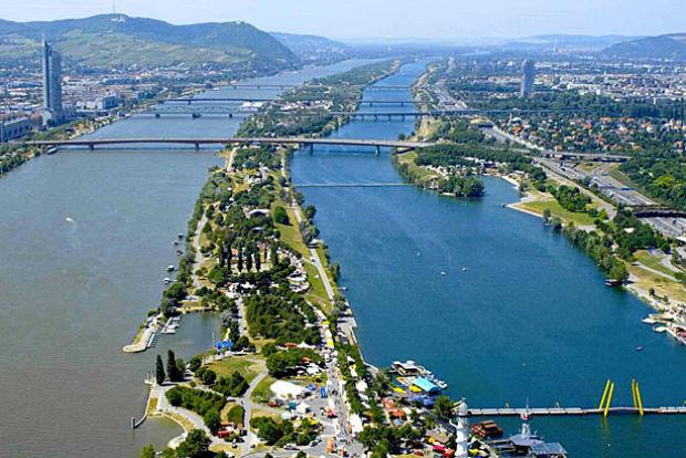 Die Donauinsel ist Wiens Freizeitparadies - auch für Laufbegeisterte.