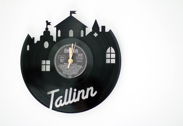 Re Vinyl Schallplatten Werden Durch Upcycling Zum Designobjekt