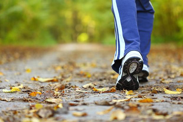Es muss nicht immer gleich eine Runde Lauftraining sein. Ein gemütlicher Spaziergang durch einen der Wiener Parks macht viel Spaß!