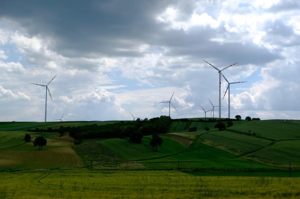 Windkraftanlagen © Martin Skopal 2014
