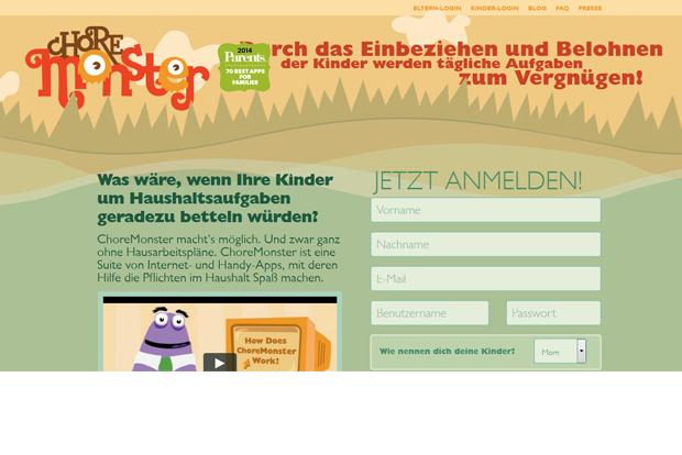ChoreMonster Putz-App