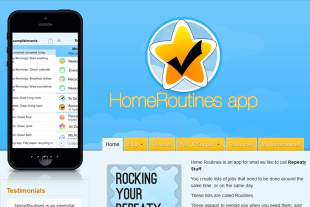 HomeRoutines Putz-App