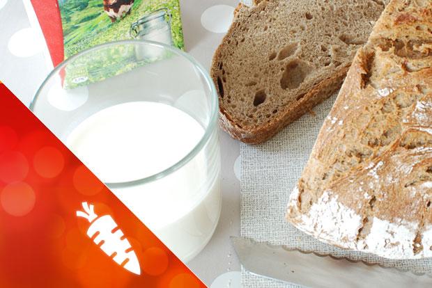 grundnahrungsmittel, milch, Brot, Lebensmitteltechnik, energieleben