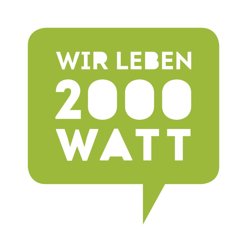Energieverbrauch 2000 Watt