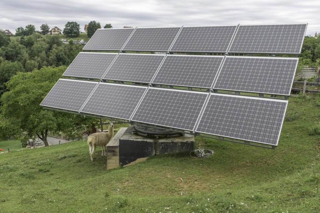 Photovoltaik-Anlage in der Steiermark © Martin Skopal