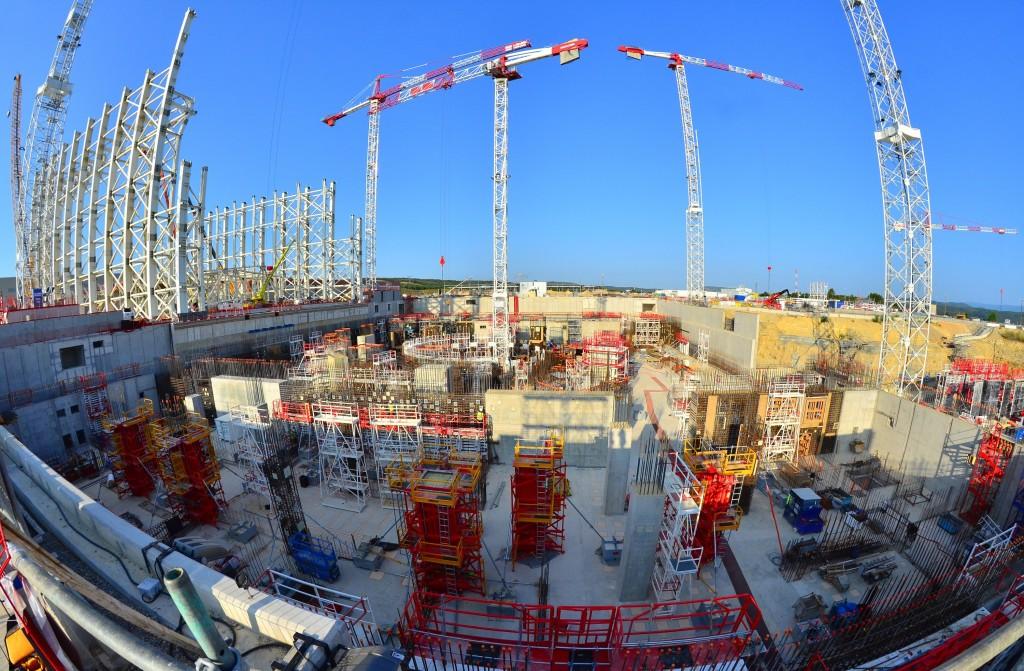 ITER Baustelle © iter.org