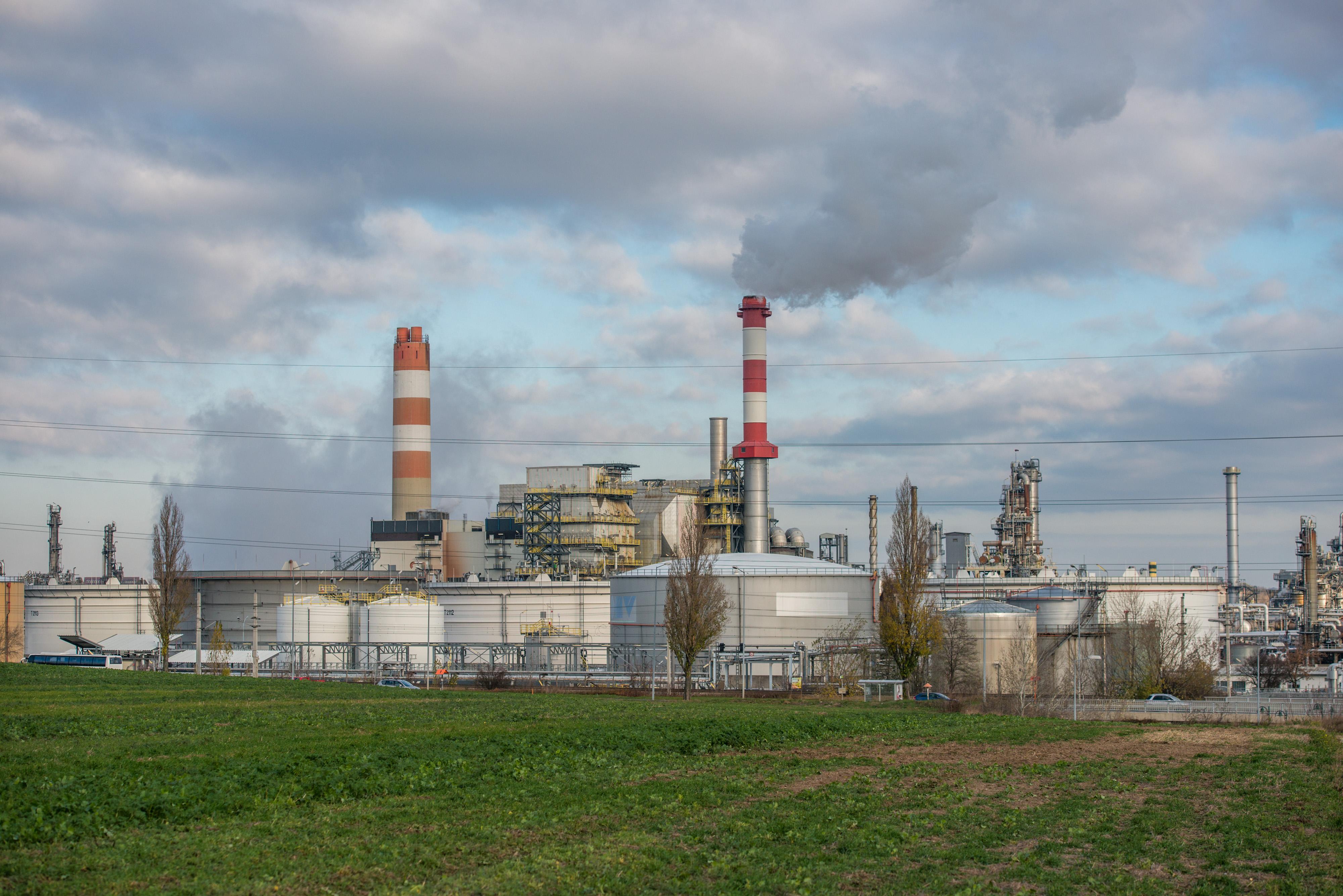 OMV Raffinerie Schwechat © Martin Skopal