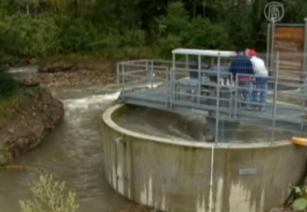 Schweizer Gravitationswasserwirbelkraftwerk