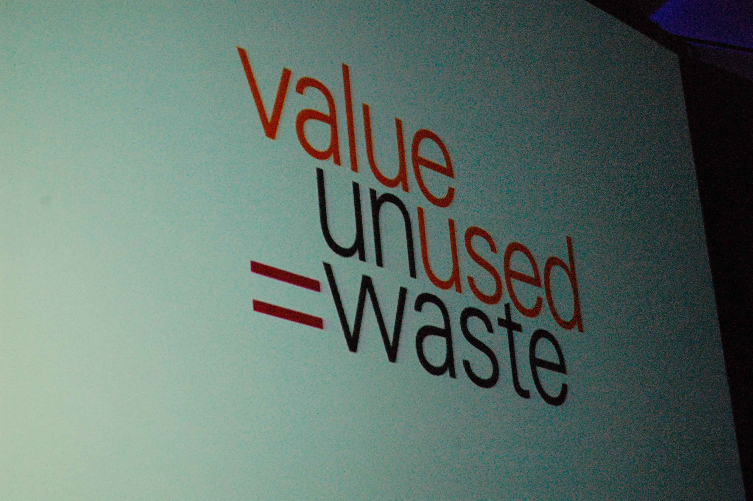 Value Unused = Waste / © Kevin Krejci, Flickr