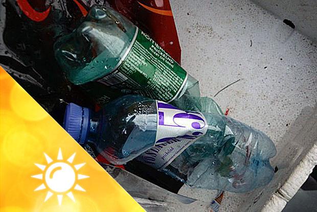 San Francisco Plastikflaschen
