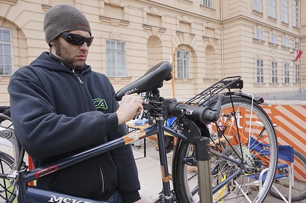 Fahrrad Fix It! im April 2016