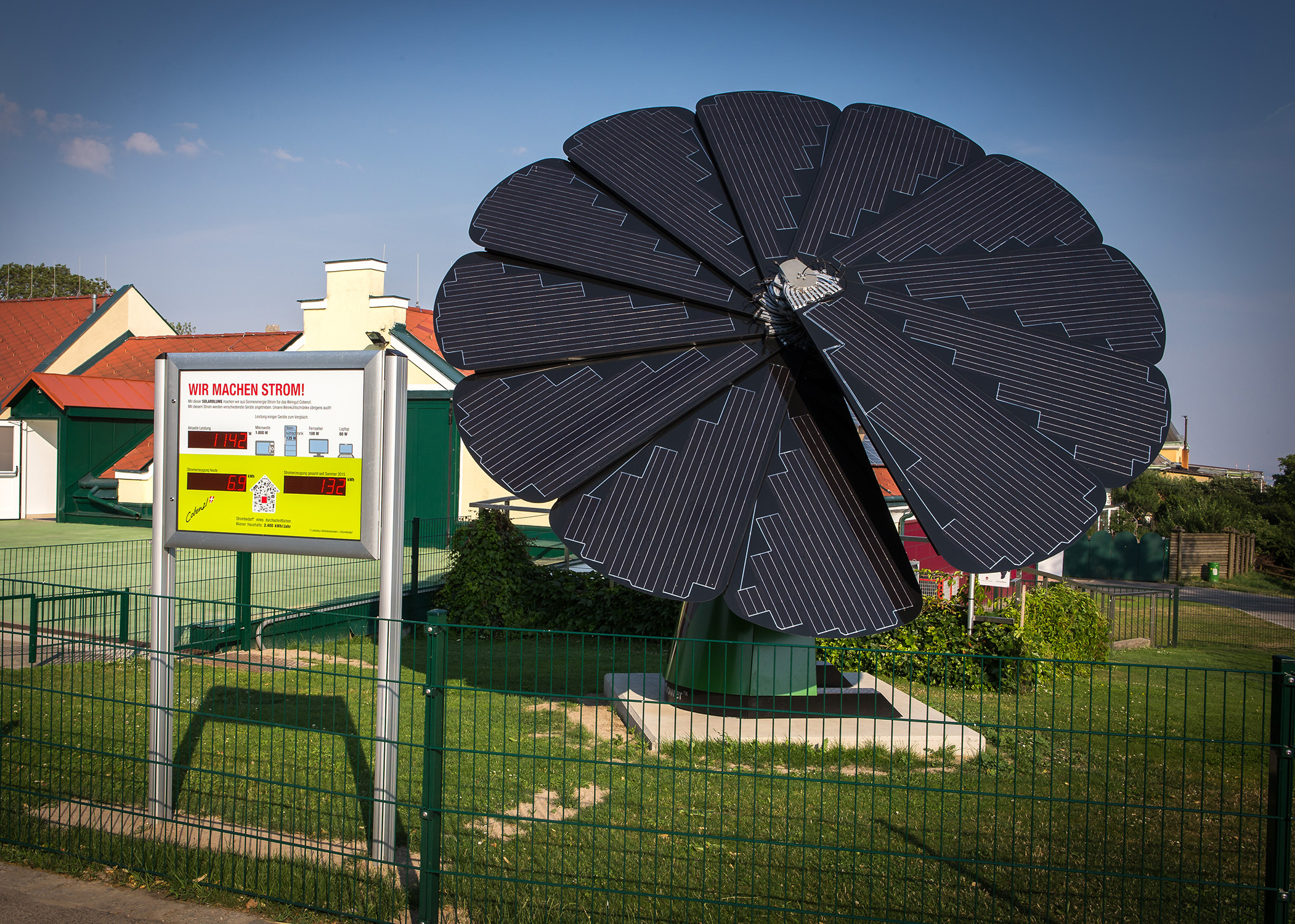 Weingut Cobenzl setzt auf nachhaltige Sonnenenergie