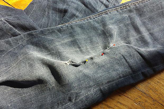 Kleidung reparieren statt wegwerfen