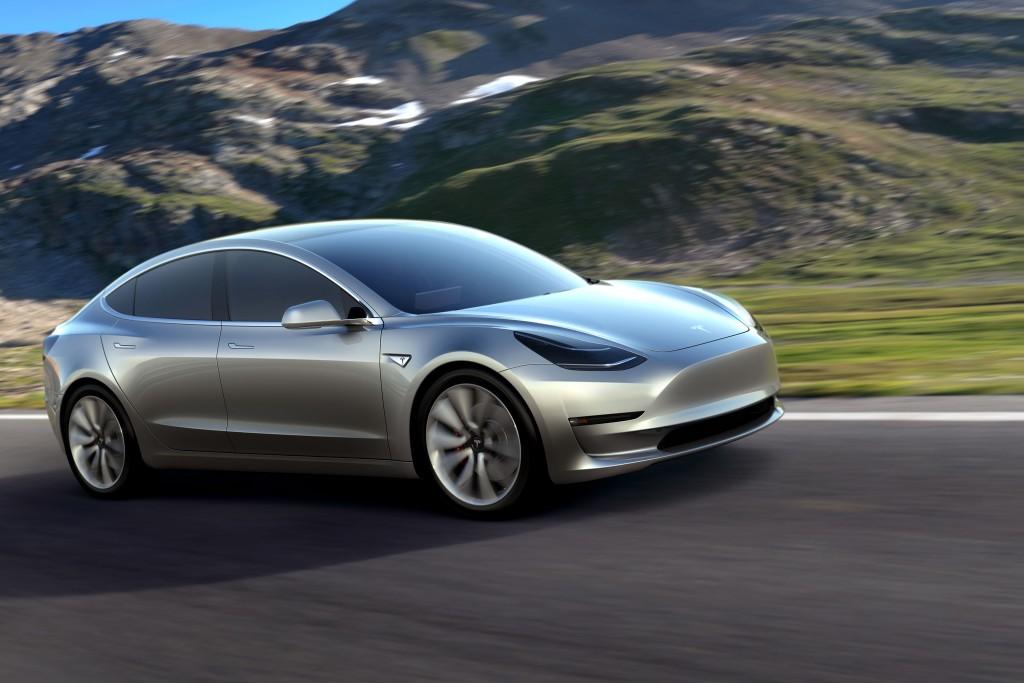 Tesla Model 3 © Tesla Motors
