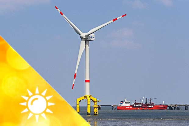 Windenergie Dänemark
