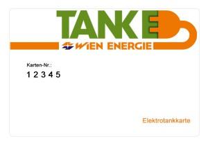 Ladekarte Tanke Wien - Wien Energie