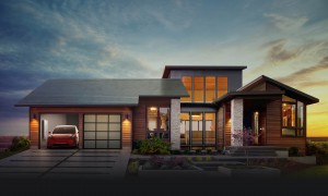 Tesla Solar Roof © Tesla Motors Inc