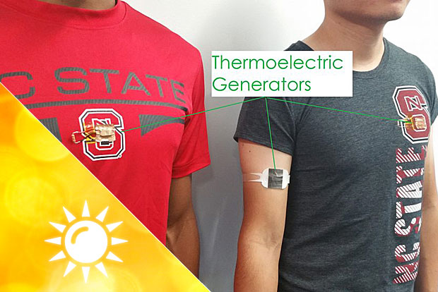 Thermoelektrisches T-Shirt