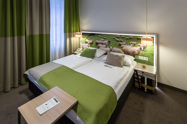 Boutique Hotel Stadthalle - Upcycling Design Zimmer