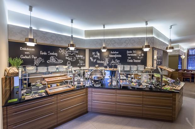 Boutique-Hotel Stadthalle - Frühstücksbuffet