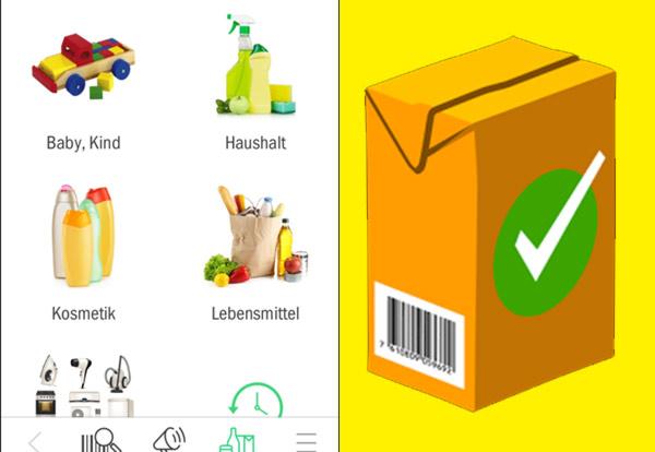Codecheck - App - Lebensmittel & Kosmetik Inhaltsstoffe