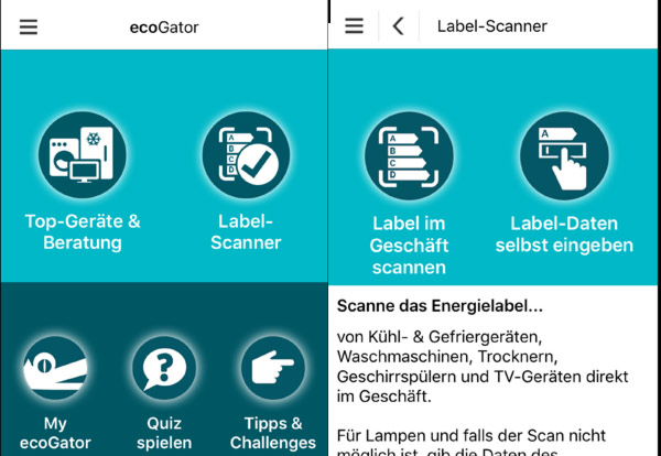 ecoGator Energiepar App