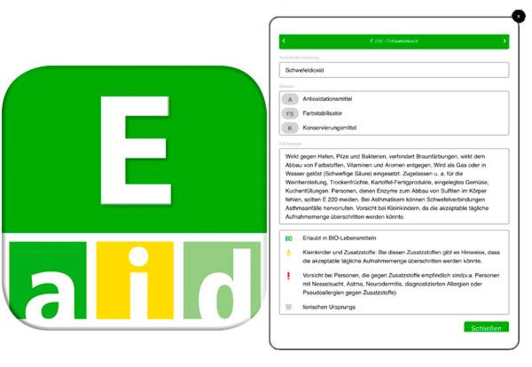 E-Nummern-Finder App