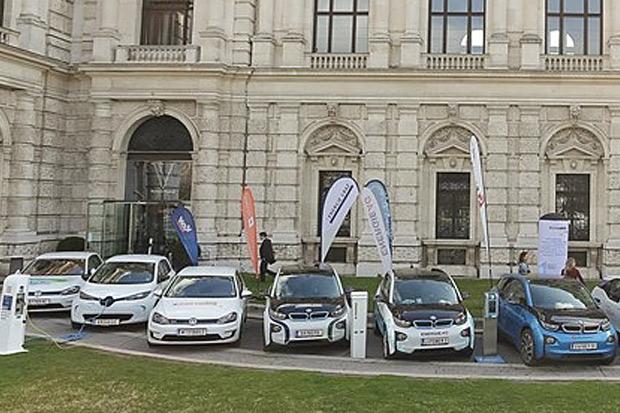 E-Tankstellen österreichweit eine Ladekarte
