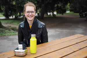 Elena Beringer spricht über ihr Leben mit Zero Waste., Fotocredit: Mira Nograsek