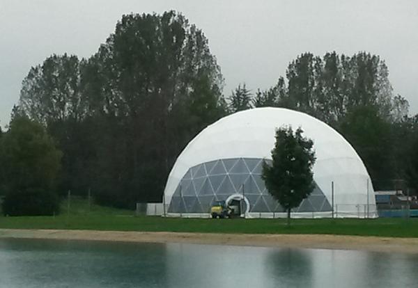 Geodätische Kuppel