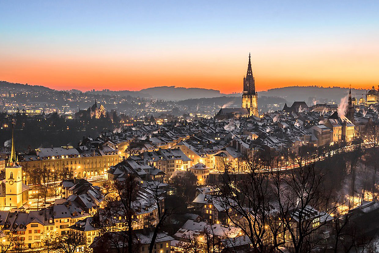 1. Bern: 23,3% Eco-Hotels