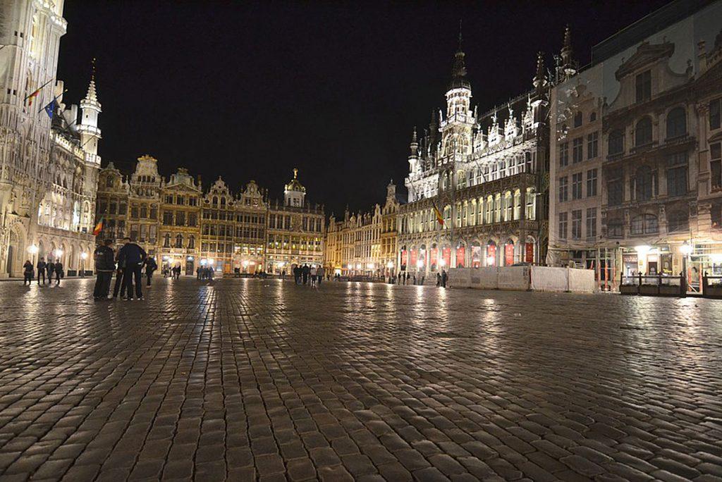 4. Brüssel: 14,57% Eco-Hotels