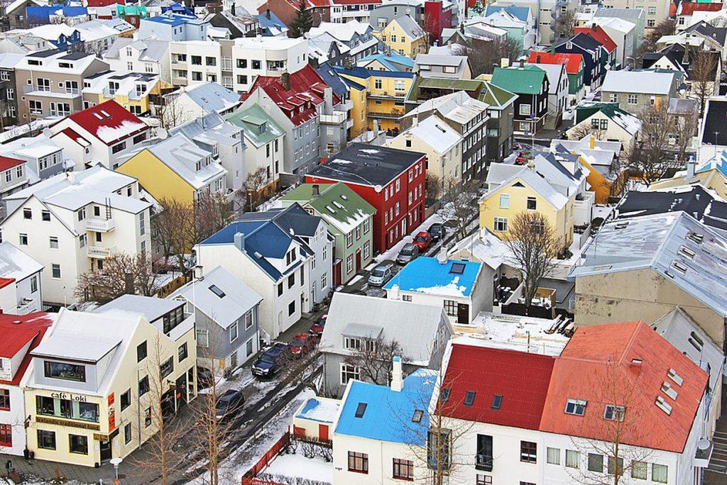 5. Reykjavik: 13,46% Eco-Hotels