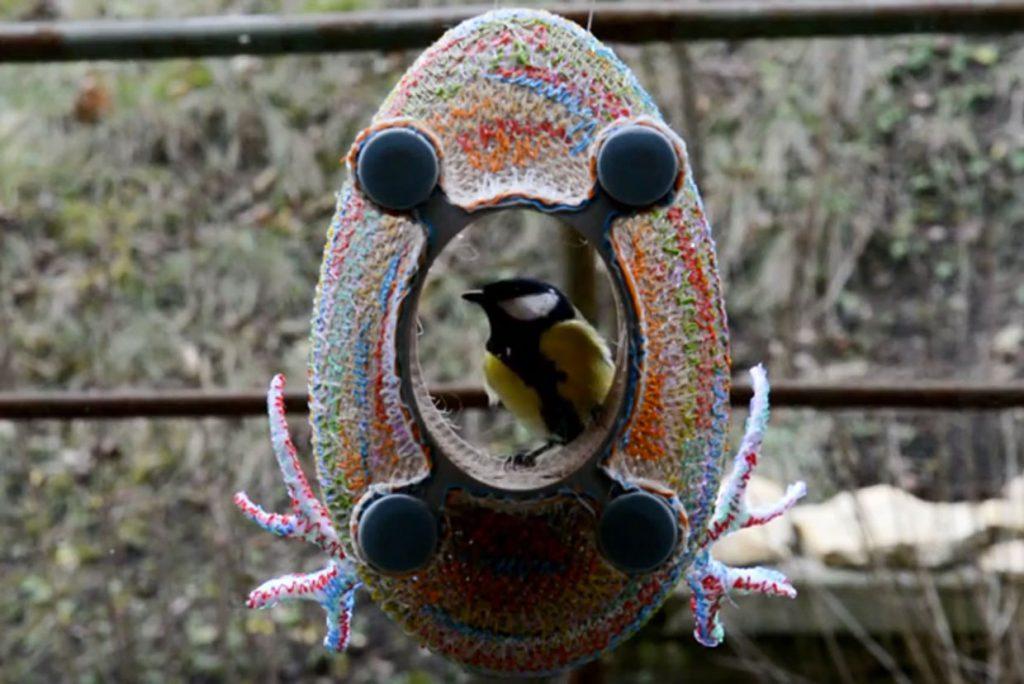 Vogelhaus aus dem 3D-Drucker