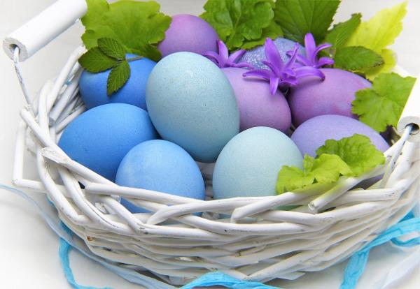 Gefärbte Eier gehören zu Ostern traditionell dazu. - Photocredit: pixabay.com/Silviarita