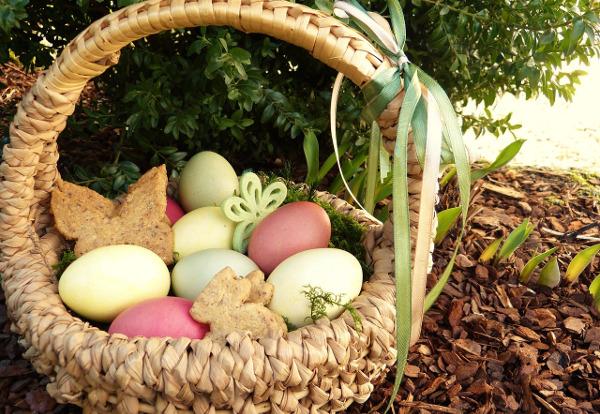 Osterneste können sehr natürlich gestaltet sein. - Photocredit: pixabay.com/Silviarita