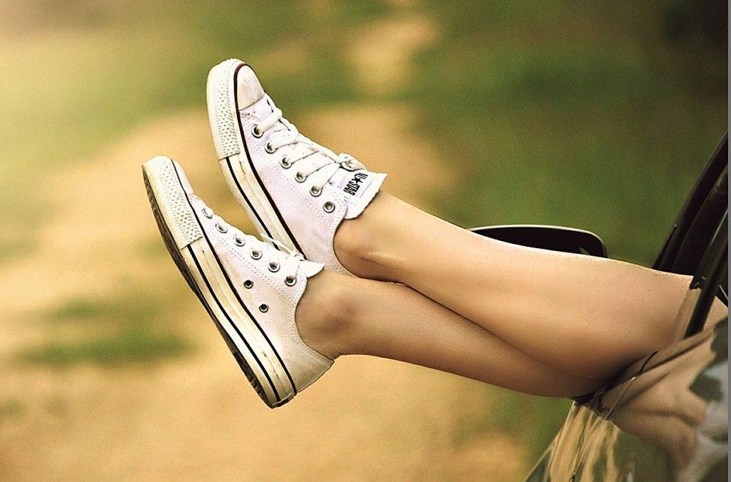 1. Schuhe trocknen