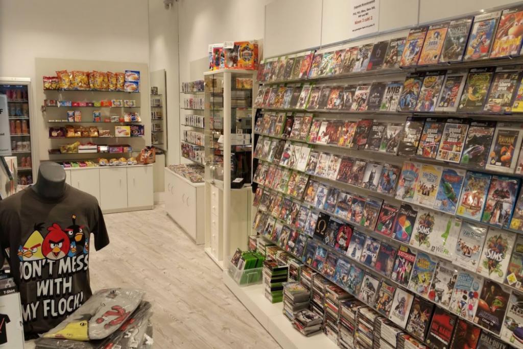 Computerspiele tauschen statt sie neu einzukaufen bei Games Connect spart Geld – Foto: Philipp Böhm