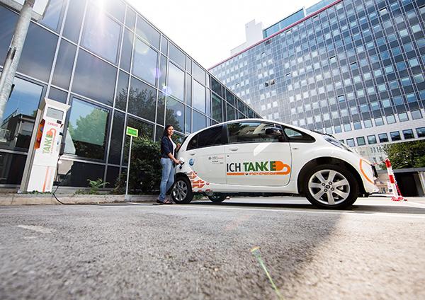 1) E-Mobilität Bildrechte: Wien Energie/EHM