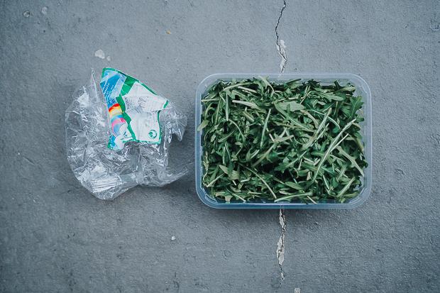 Der köstliche Bösewicht kam zwei Mal in Plastik verpackt.