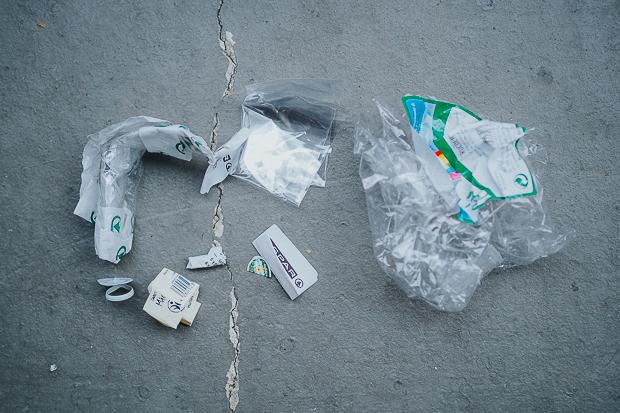 Mein Plastikmüll seit dem begonnenen #Plastikfasten