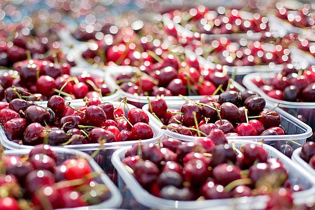 7. Kirschen: Diese enthielten im Durchschnitt fünf Pestizide