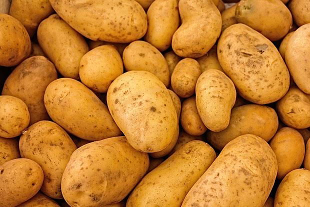 11. Kartoffel: Gemessen am Gewicht hatten Kartoffel den höchsten Pestizidanteil